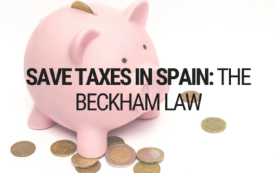 How To Save Taxes in Spain: Beckham Law