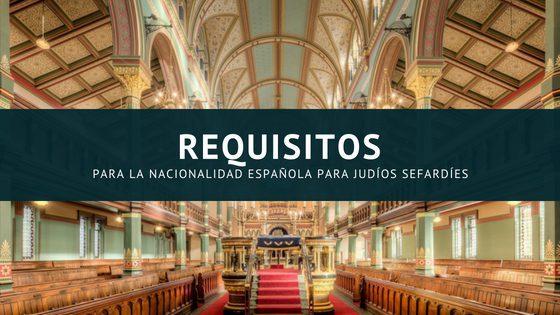 Nacionalidad Española Para Sefardíes