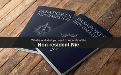 Living Legally in Spain: What is a Non-Resident Nie in Spain?