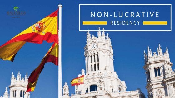 non-lucrative residence visa in Spain