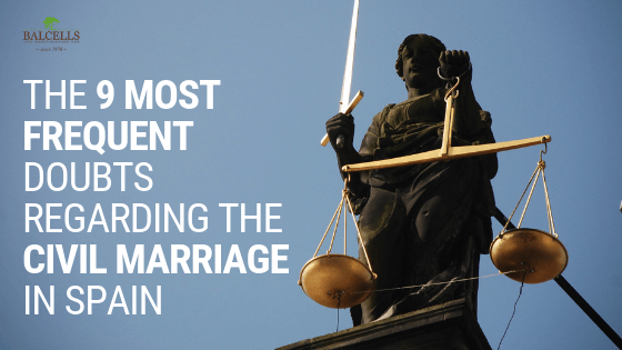 Frequent Doubts Regarding the Civil Marriage in Spain