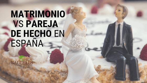 ¿Cuál es la Diferencia Entre Pareja de Hecho y Matrimonio?