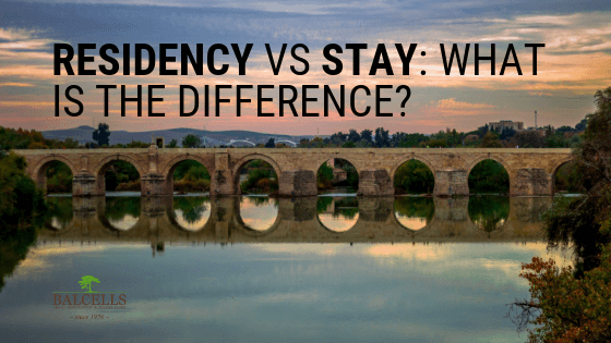 Residency vs Stay Status in Spain: What is the Difference?