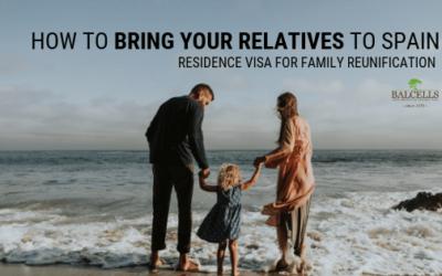 Residence Visa for Family Reunification in Spain