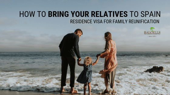 Residence Visa for Family Reunification in Spain