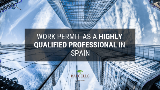 Highly Skilled Professional Work Permit