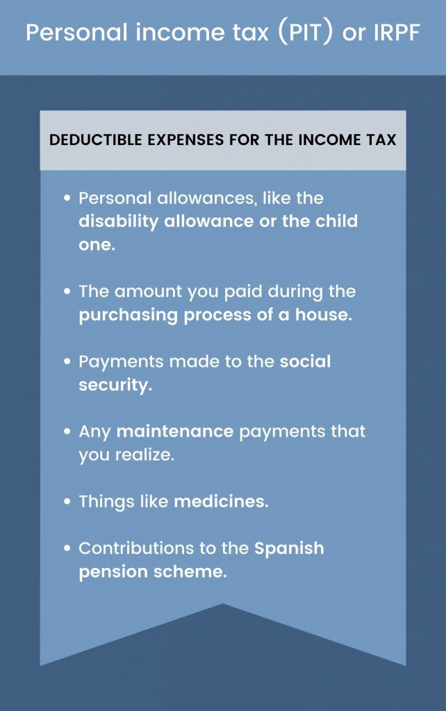 deductible expenses income tax