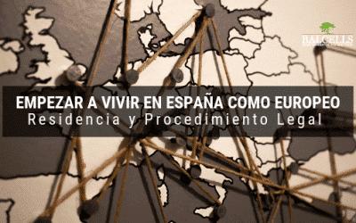Certificado de Registro UE: Empezar a Vivir en España Como Europeo