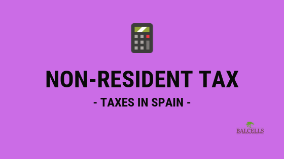non-resident tax in Spain