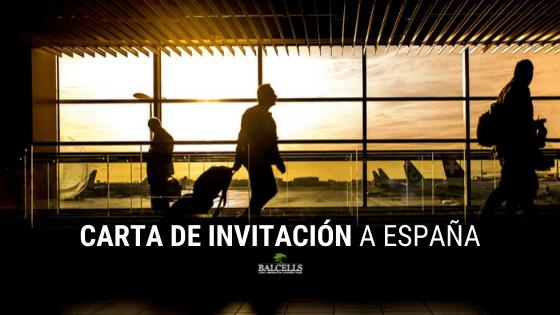Carta de Invitación a España para Extranjeros