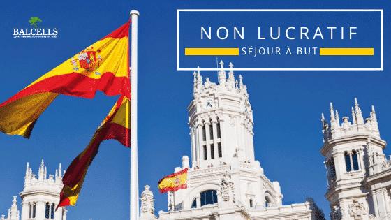Visa à But Non Lucratif en Espagne