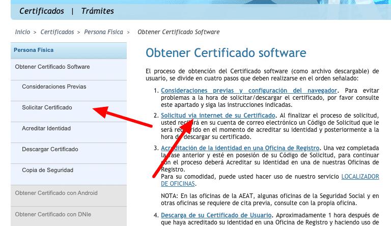 cómo conseguir el certificado digital