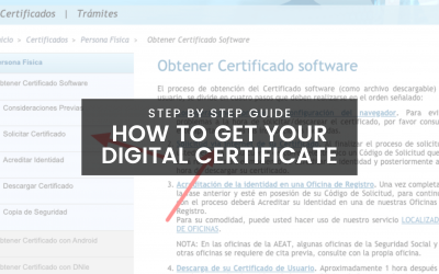 How to Get a Digital Certificate in Spain
