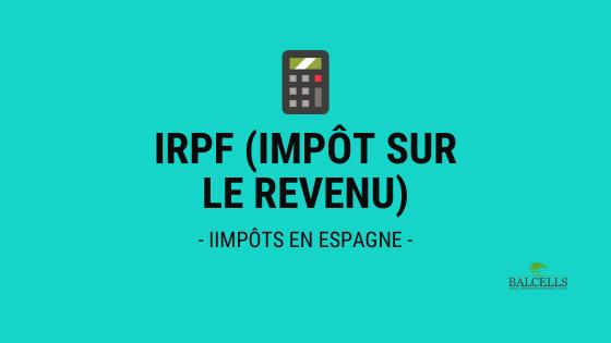Impôt sur le revenu en Espagne