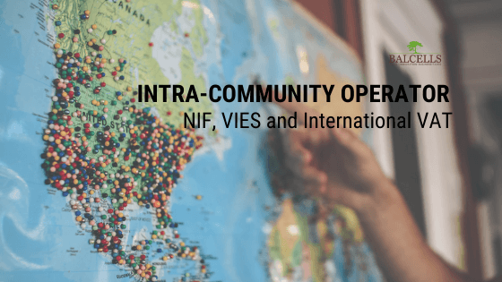 Intra-Community Operator: NIF, VIES and International VAT