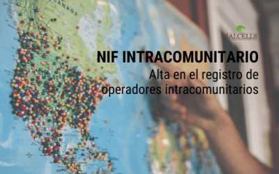 NIF Intracomunitario o ROI (Registro de Operadores Intracomunitarios)