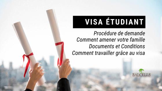 Visa Étudiant en Espagne : Exigences et Procédure de Demande
