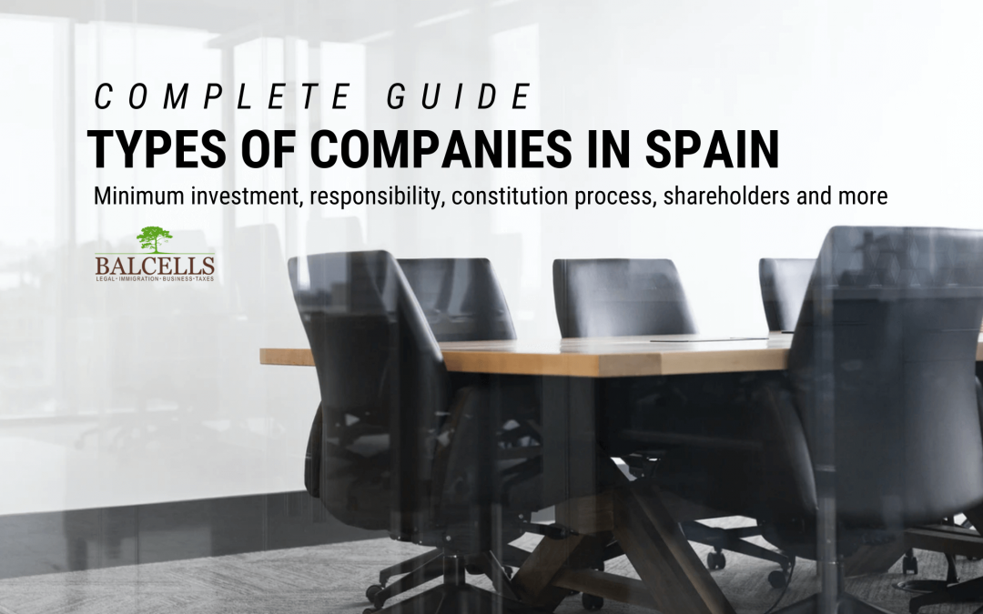 Types of Companies and Business Structures in Spain