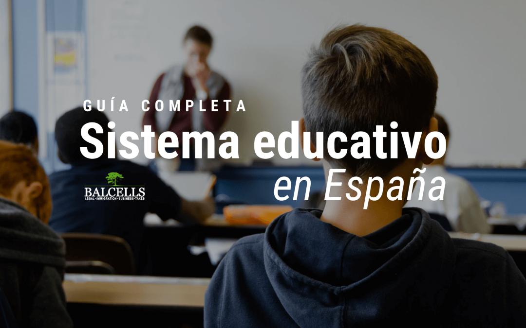 Sistema Educativo en España: Cómo Funciona, Etapas, Calendarios y Más