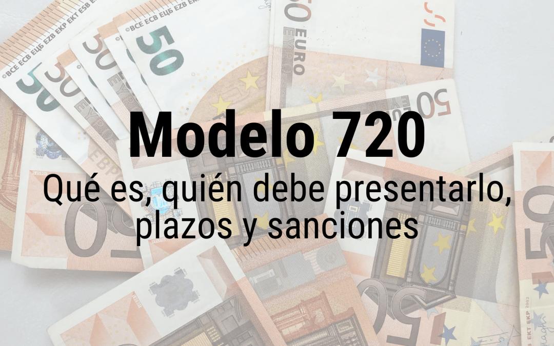 Declaración Modelo 720 en España