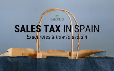 Sales tax in Spain: VAT Tax and VAT Rates