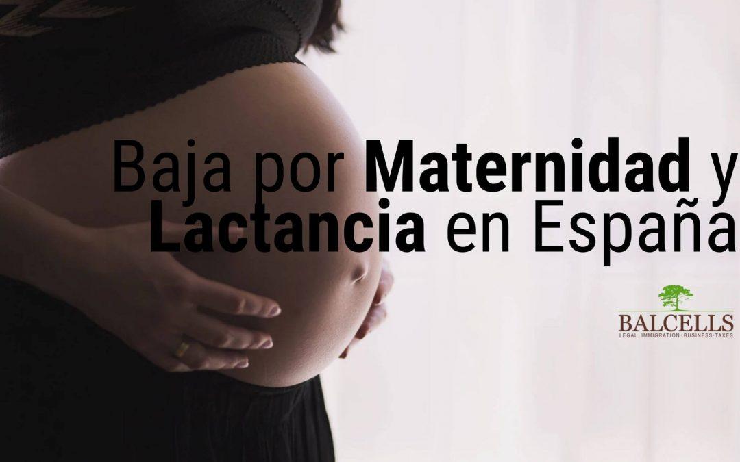 Baja por Maternidad y Lactancia en España
