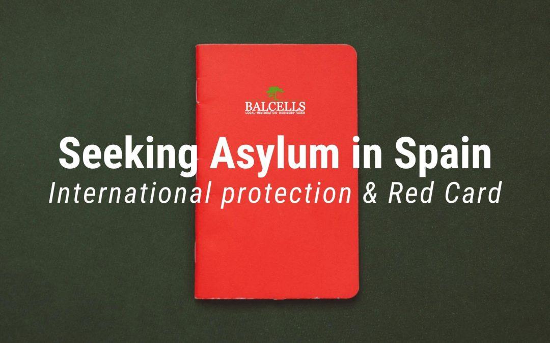 Seeking Asylum in Spain (International Protection)