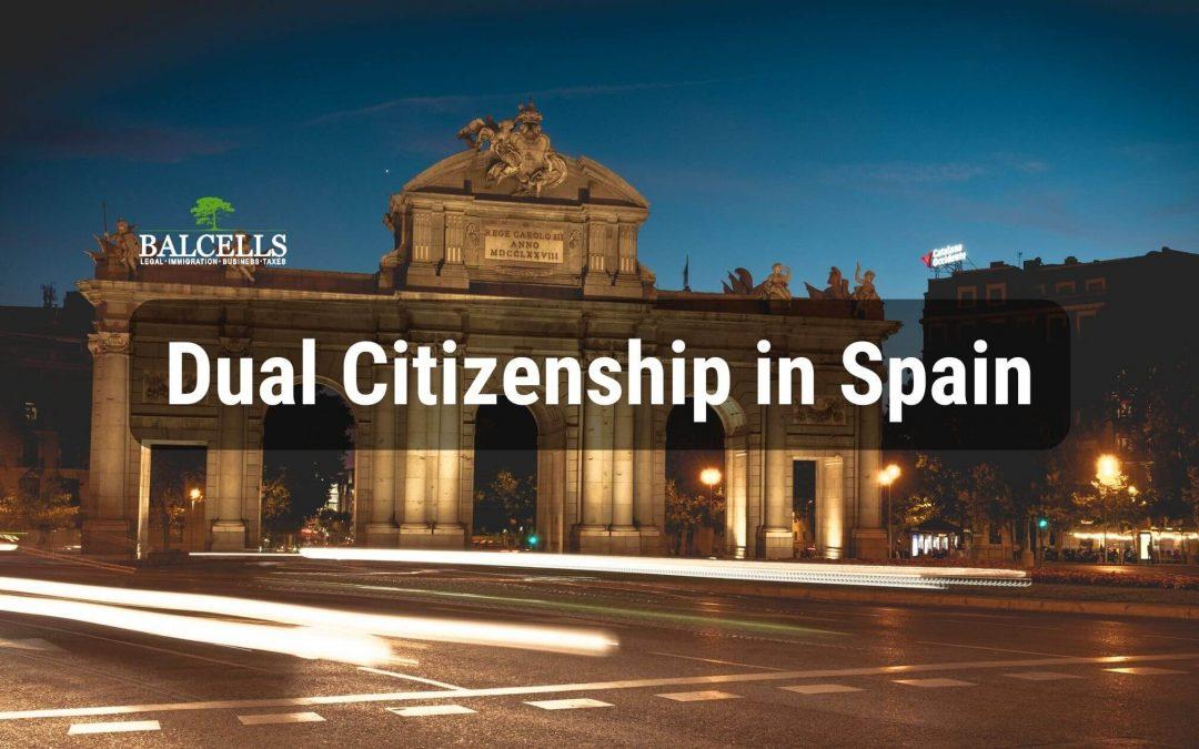dual citizenship in Spain