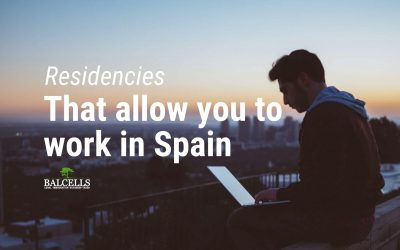 Residence Permits that allow you to work In Spain
