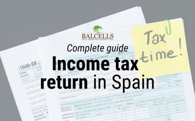 How to File your Income Tax Return in Spain