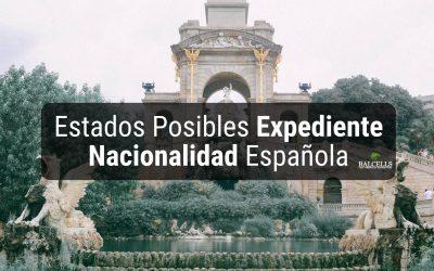 Estados Posibles de tu Expediente de Nacionalidad Española