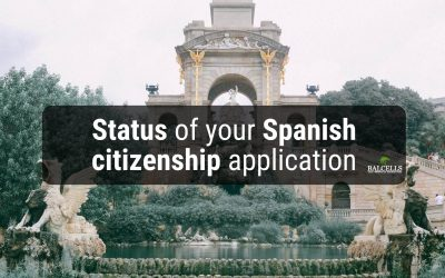 Possible Statuses of your Spanish Nationality File