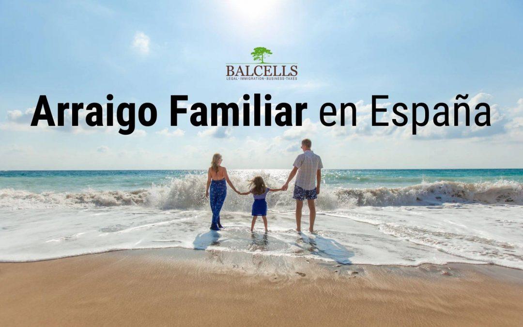 arraigo familiar en España