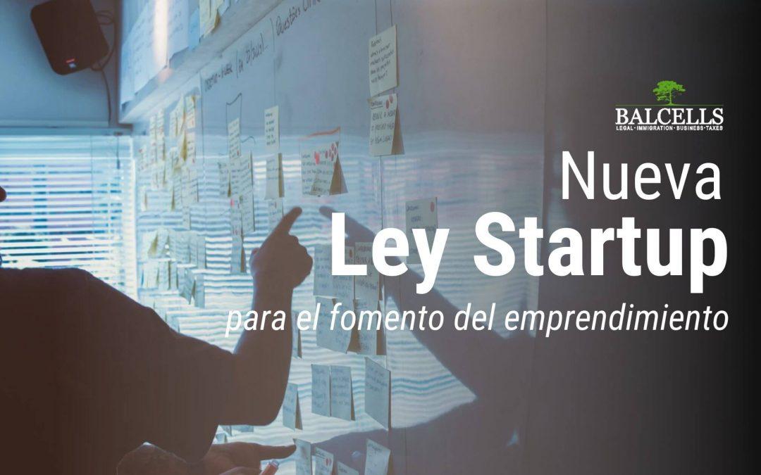 nueva ley startup en España