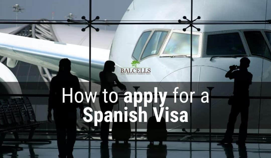 how to apply Spanish visa