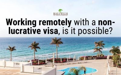 Can you work remotely in Spain with a Non-Lucrative Visa?