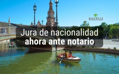 Oath of Spanish Citizenship Before Notary