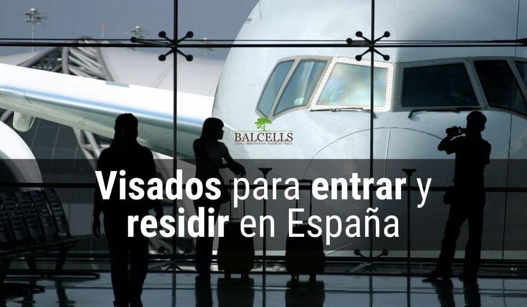 Tipos de Visados para Entrar y Vivir en España