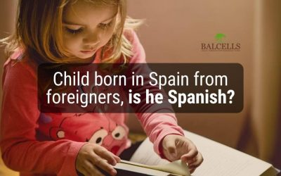 If I am a foreigner and my children are born in Spain, are they Spanish?