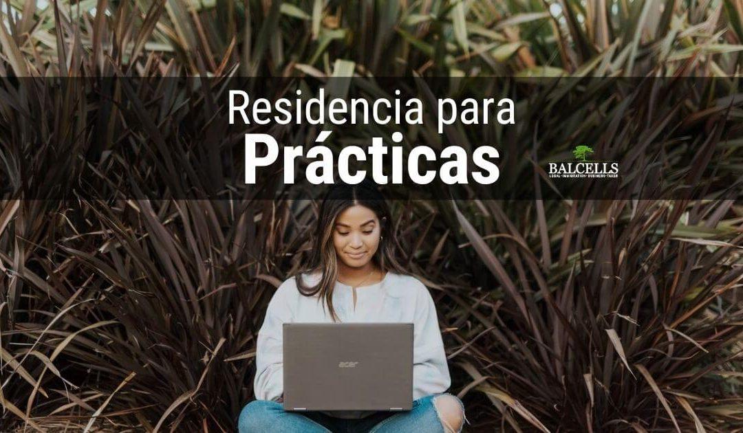 Autorización de residencia para prácticas profesionales en España